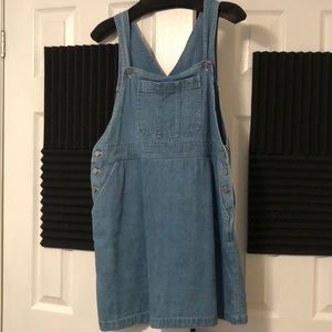 Vintage Cotton Chambray Dress